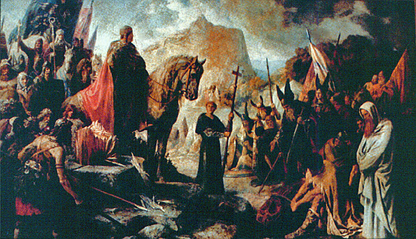 Destruction of the Irminsul