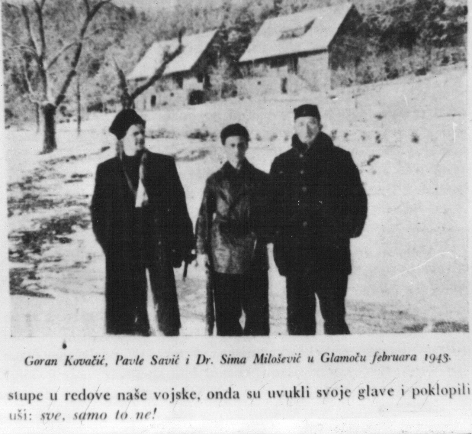 File Ivan Goran Kovacic Pavle Savic I Dr Sima Milosevic Jpg