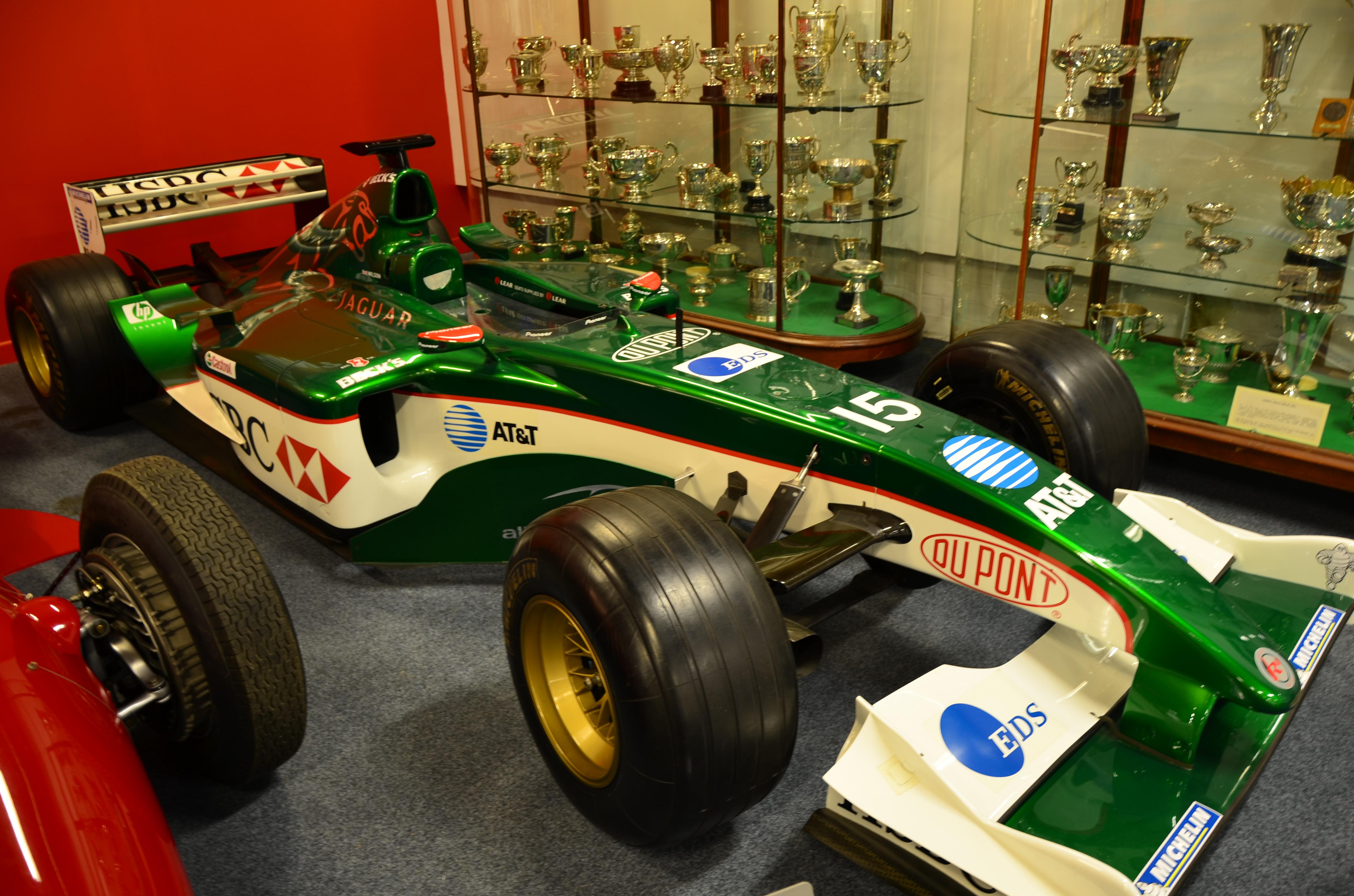 File Jaguar R4 F1 Car At Coventry Motor Museum 1 Jpg