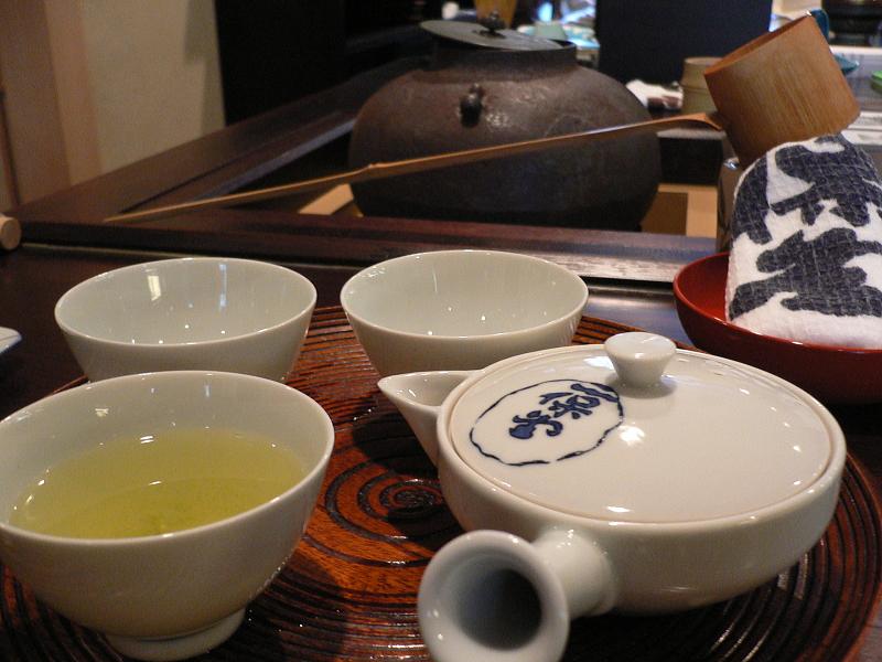 Japanese Tea Room Drawing