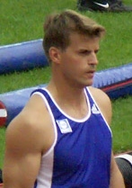 Jean Galfione French athlete