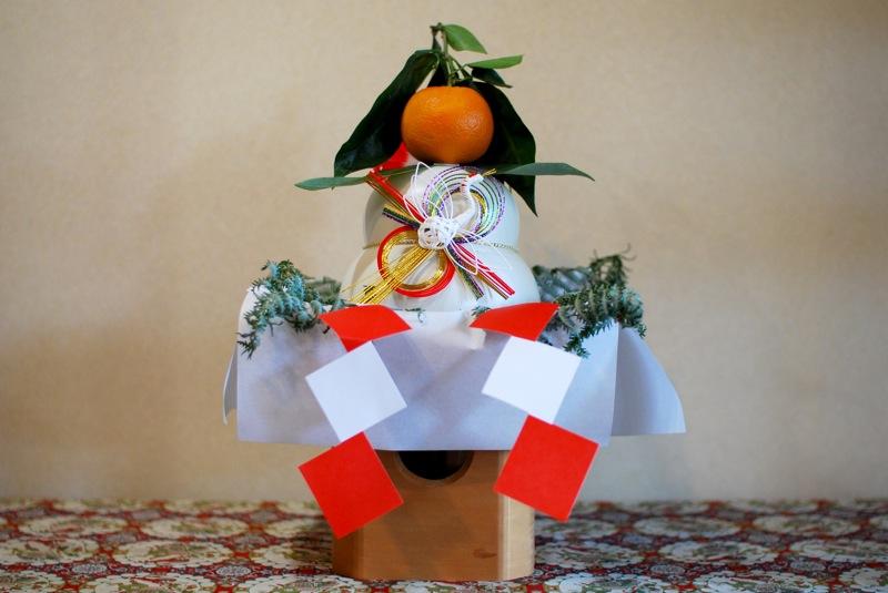 Kagami mochi by midorisyu