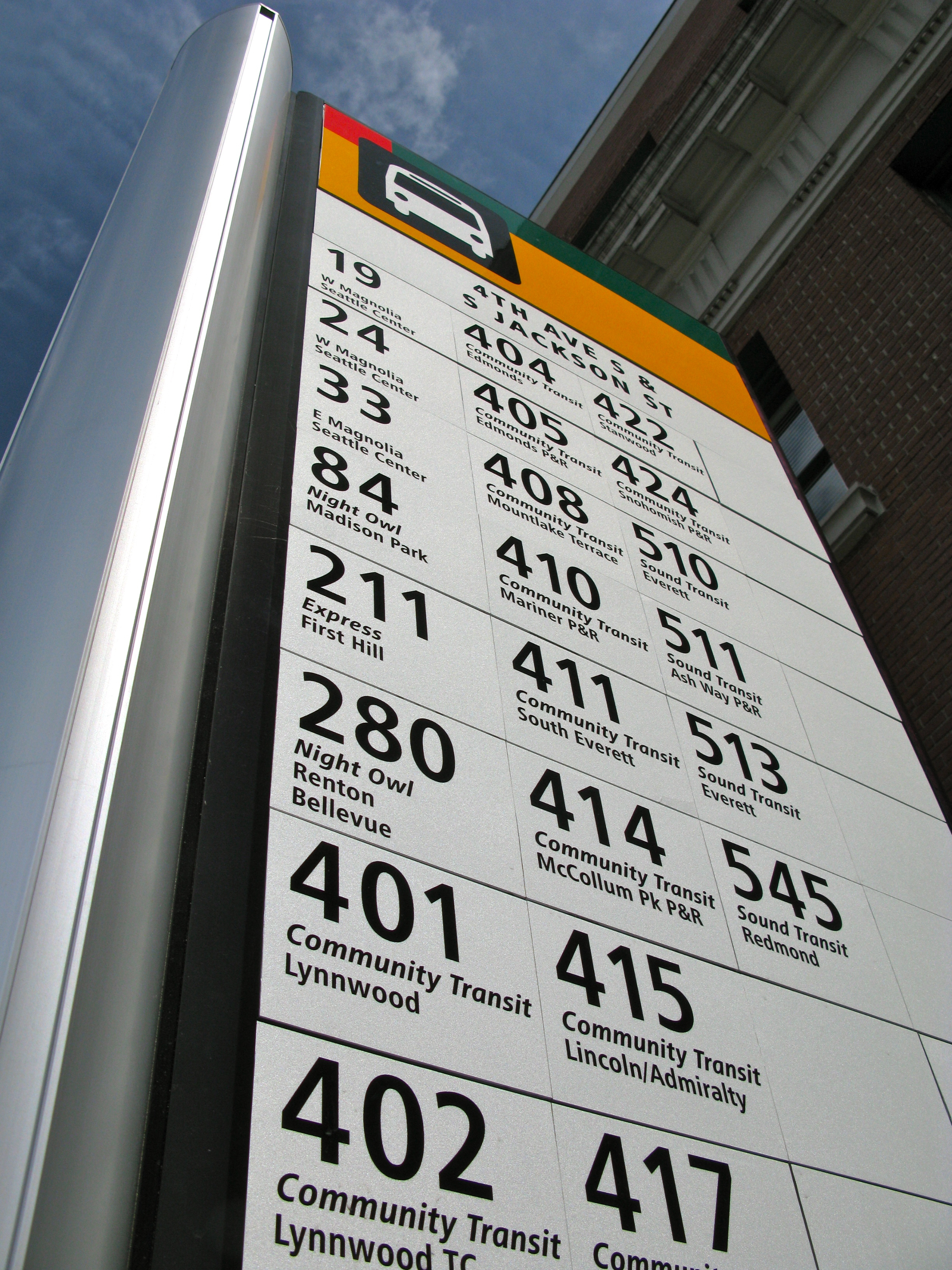 File:King County Metro bus stop sign jpg - Wikimedia Commons