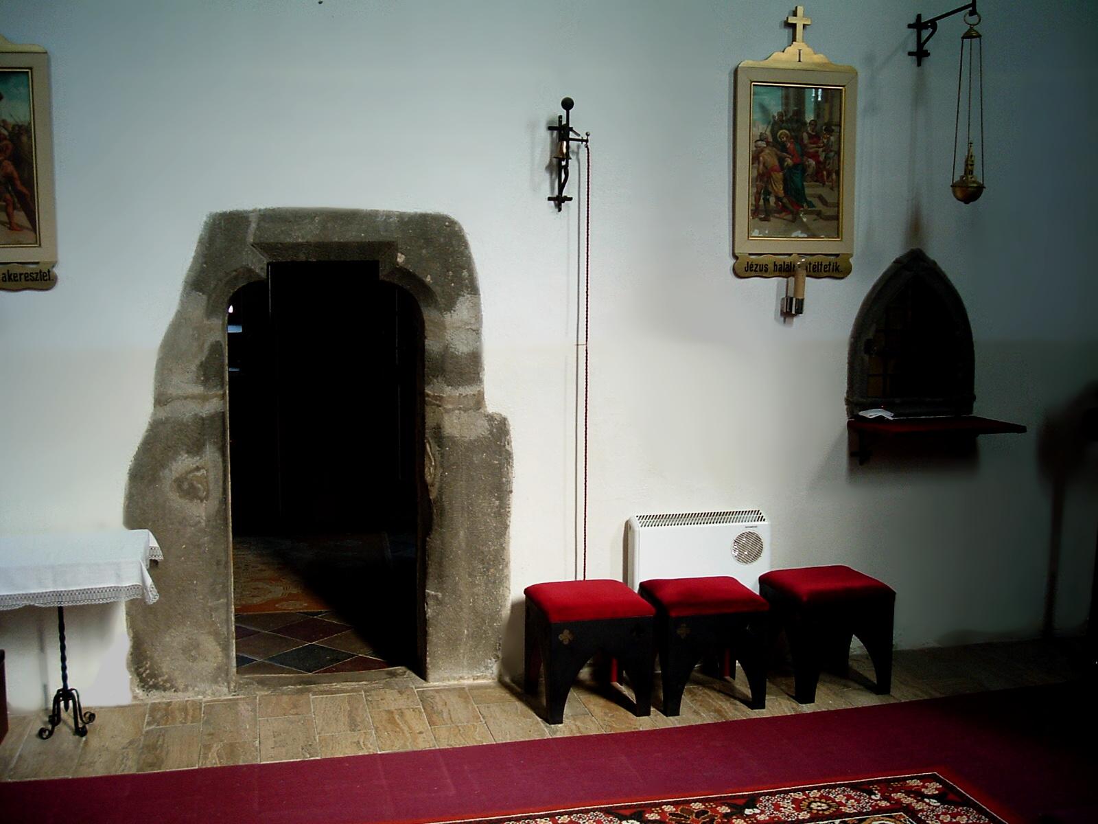 Súbor kostol – interiér