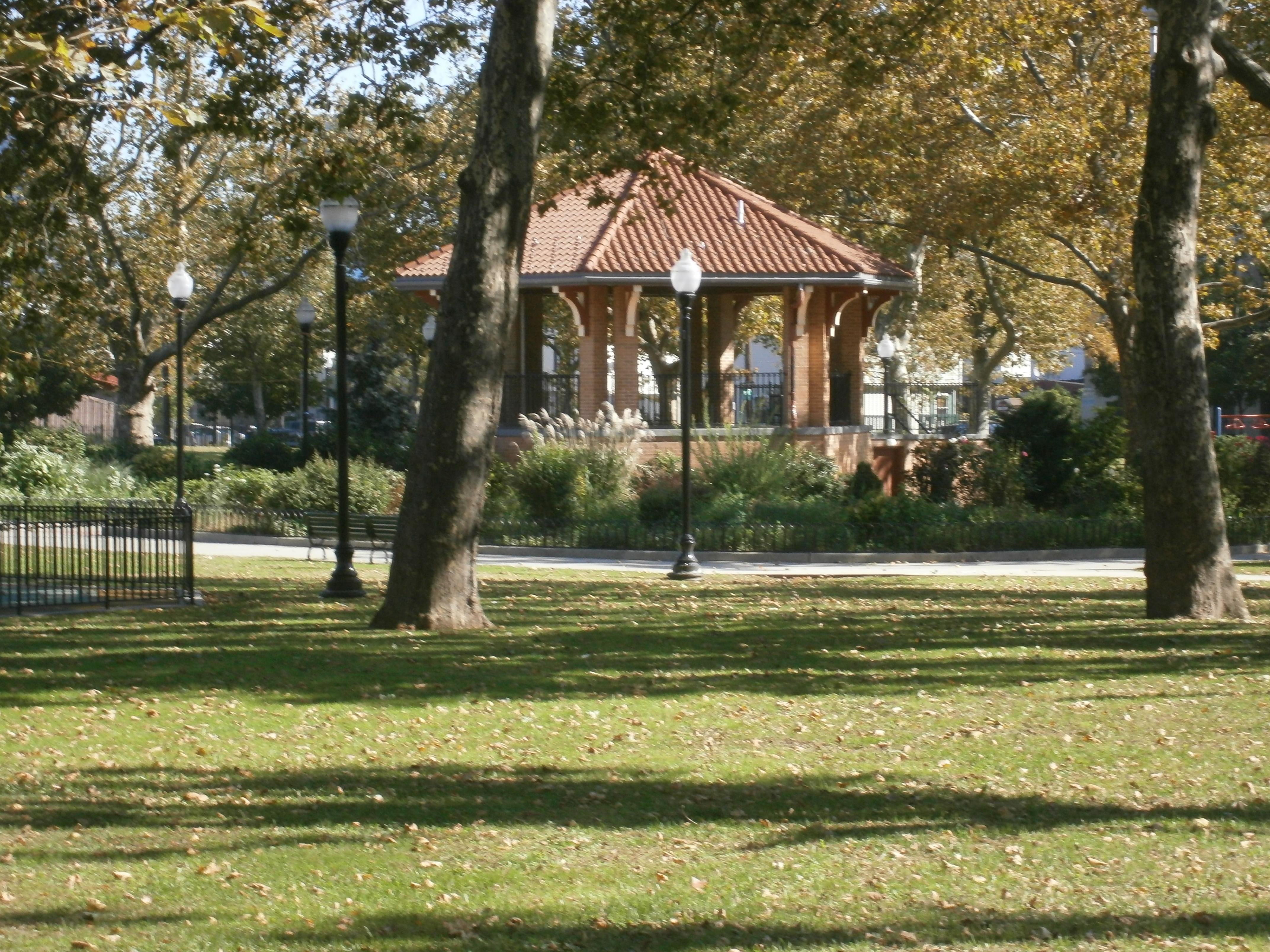City Of Lafayette >> File Lafayette Park Communipaw Lafayette Jersey City Gazebo