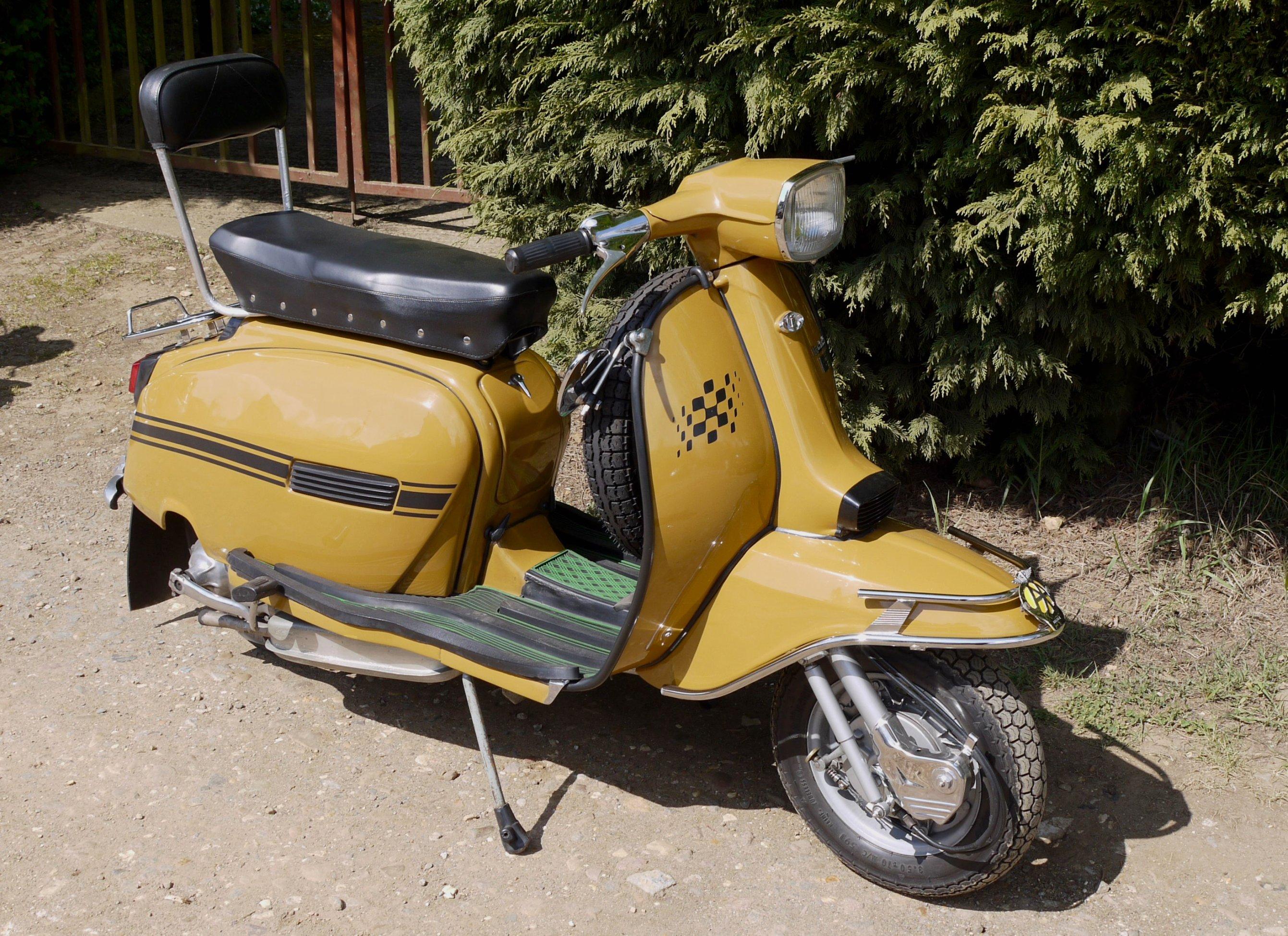 Vespa New Scooter