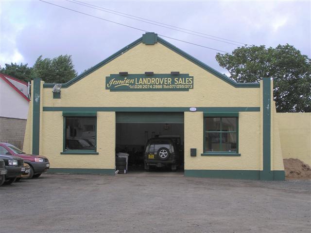 File landrover garage dervock wikimedia commons - Land rover garage near me ...