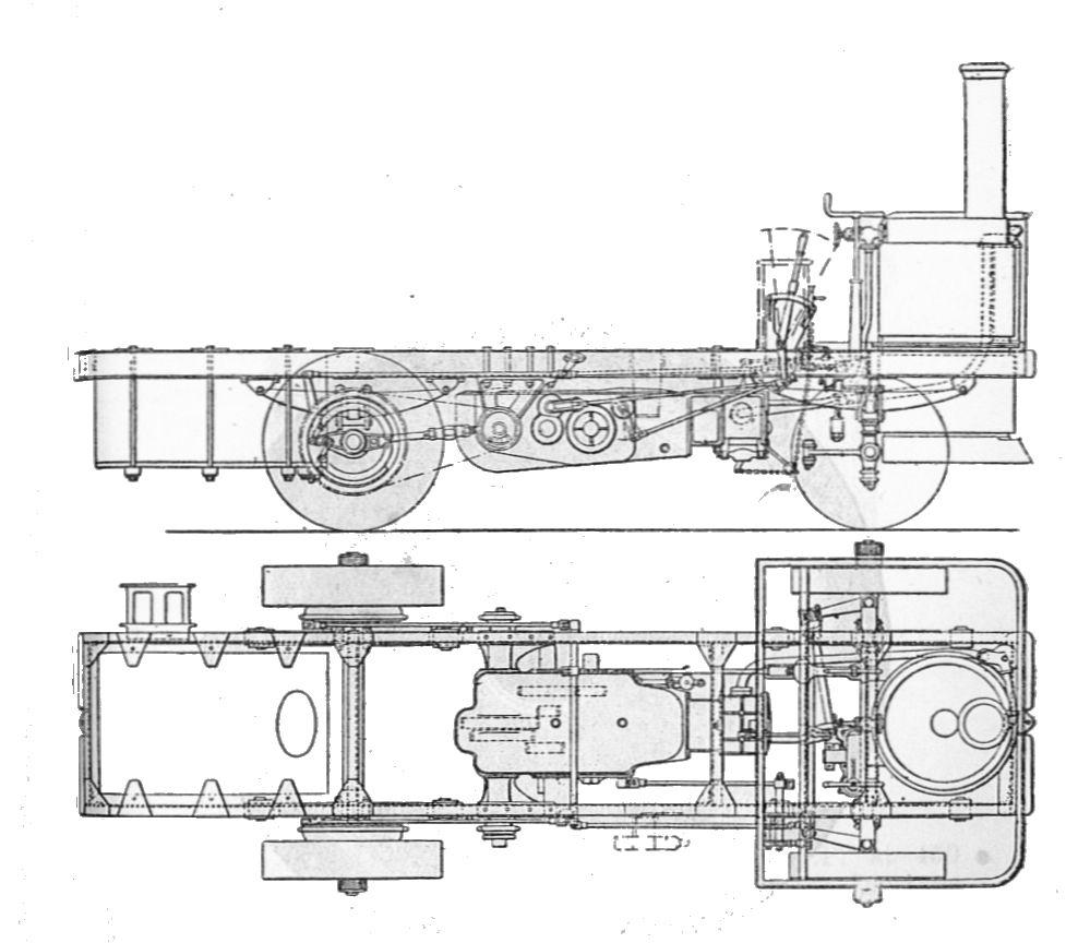 fichier:leyland steam lorry, general arrangement (army service corps  training, mechanical transport