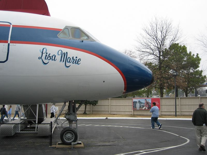 "English: Elvis Presley's plane, ""Lisa Mar..."
