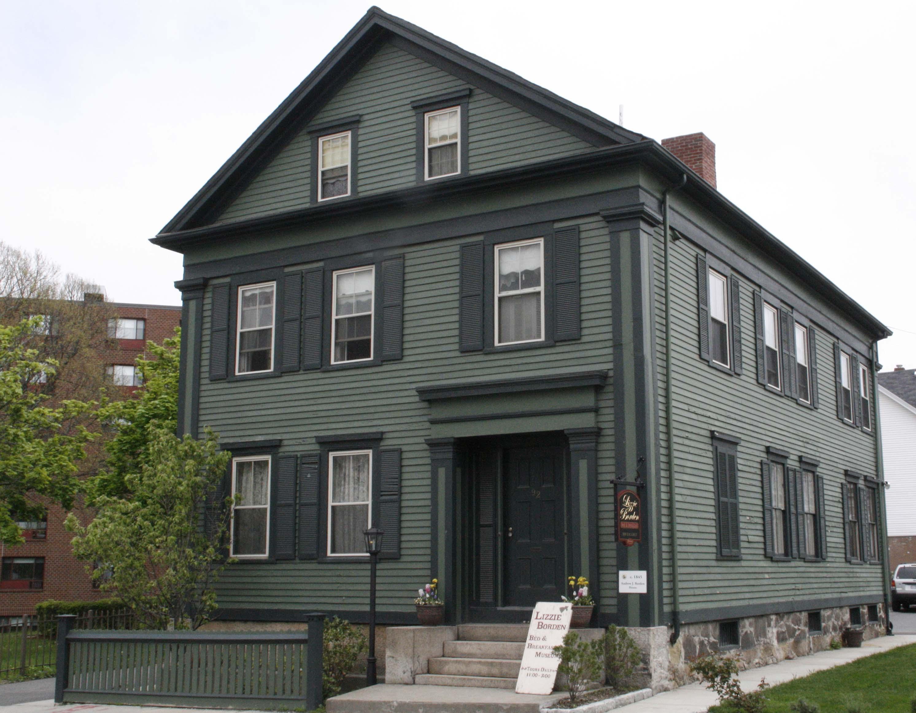 Lizzie Borden House - Wikipedia