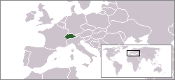 Location of Switzerland