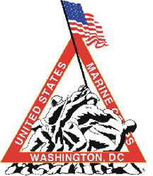 English: Marine Corps Marathon logo - from off...