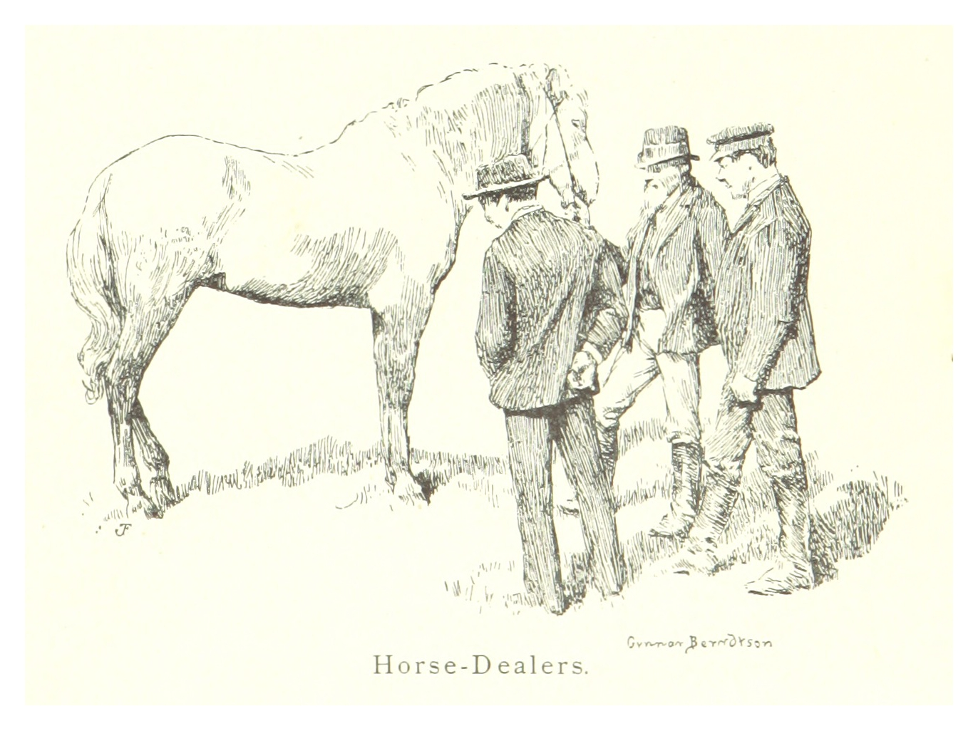an analysis of the horse dealers Dive deep into d h lawrence's the horse dealer's daughter with extended analysis, commentary, and discussion.