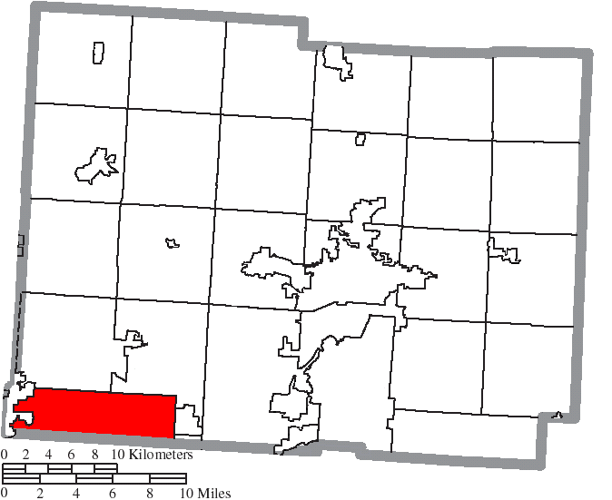 File Map Of Licking County Ohio Highlighting Etna Township Png