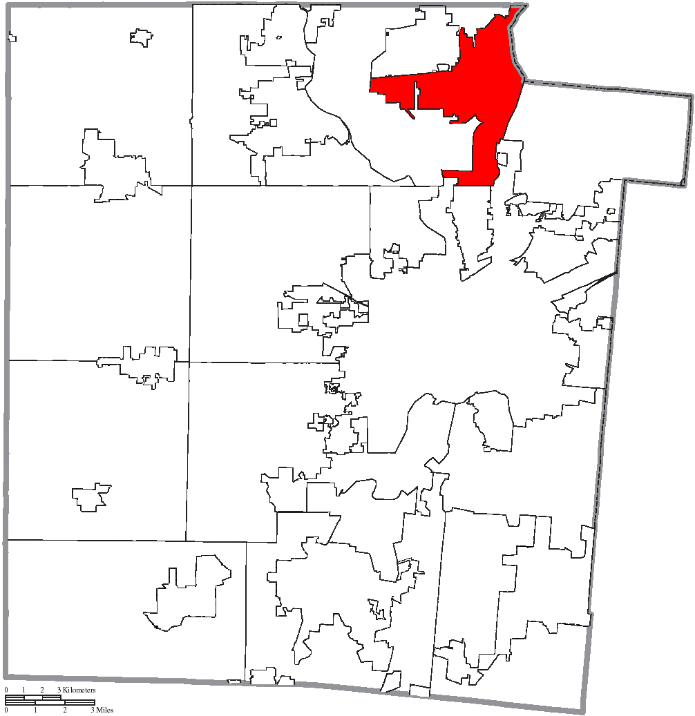 File Map Of Montgomery County Ohio Highlighting Vandalia City Png