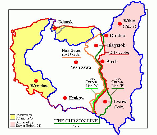 1945 苏联地图