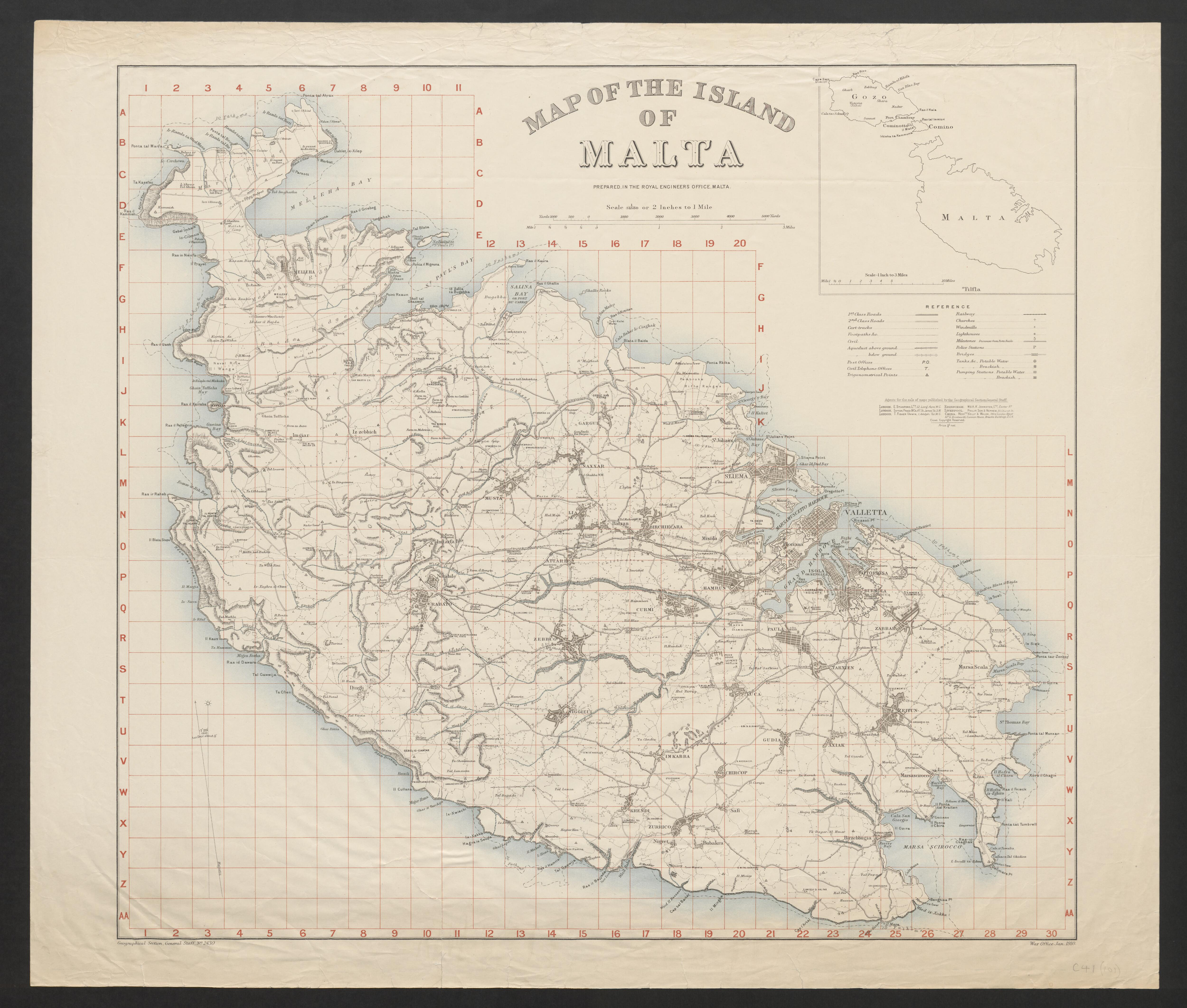 Picture of: File Map Of The Island Of Malta 5003843 Jpg Wikimedia Commons