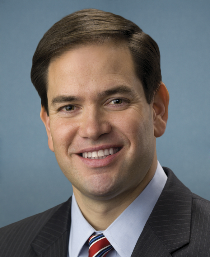 Marco Rubio official portrait