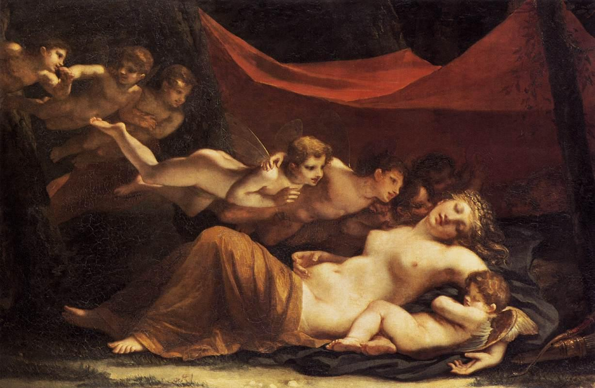 a description of the art work venus asleep Artemisia gentileschi has also included cupid, but his venus looks heavily asleep in his sleeping venus of 1625 artemisia gentileschi, sleeping venus, 1625 annibale carracci decided to include numerous cupids in his idyllic scene of venus sleeping.