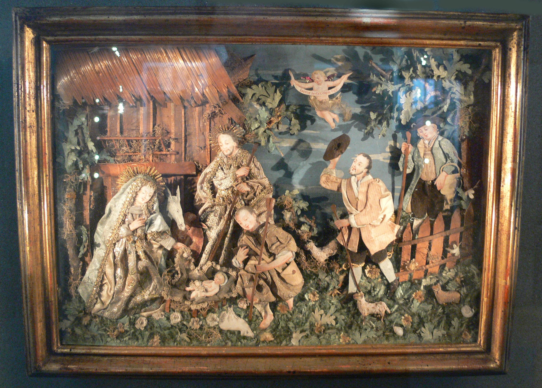File:Materialbild Anbetung der Hirten Augsburg um 1730 BNM.jpg