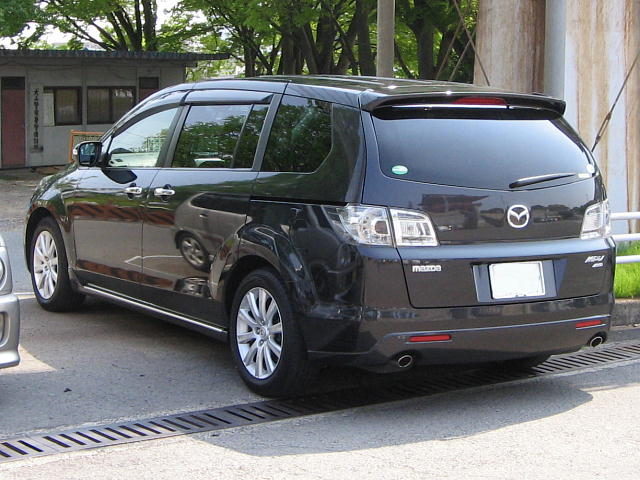 File mazda mpv 3rd rear jpg wikimedia commons