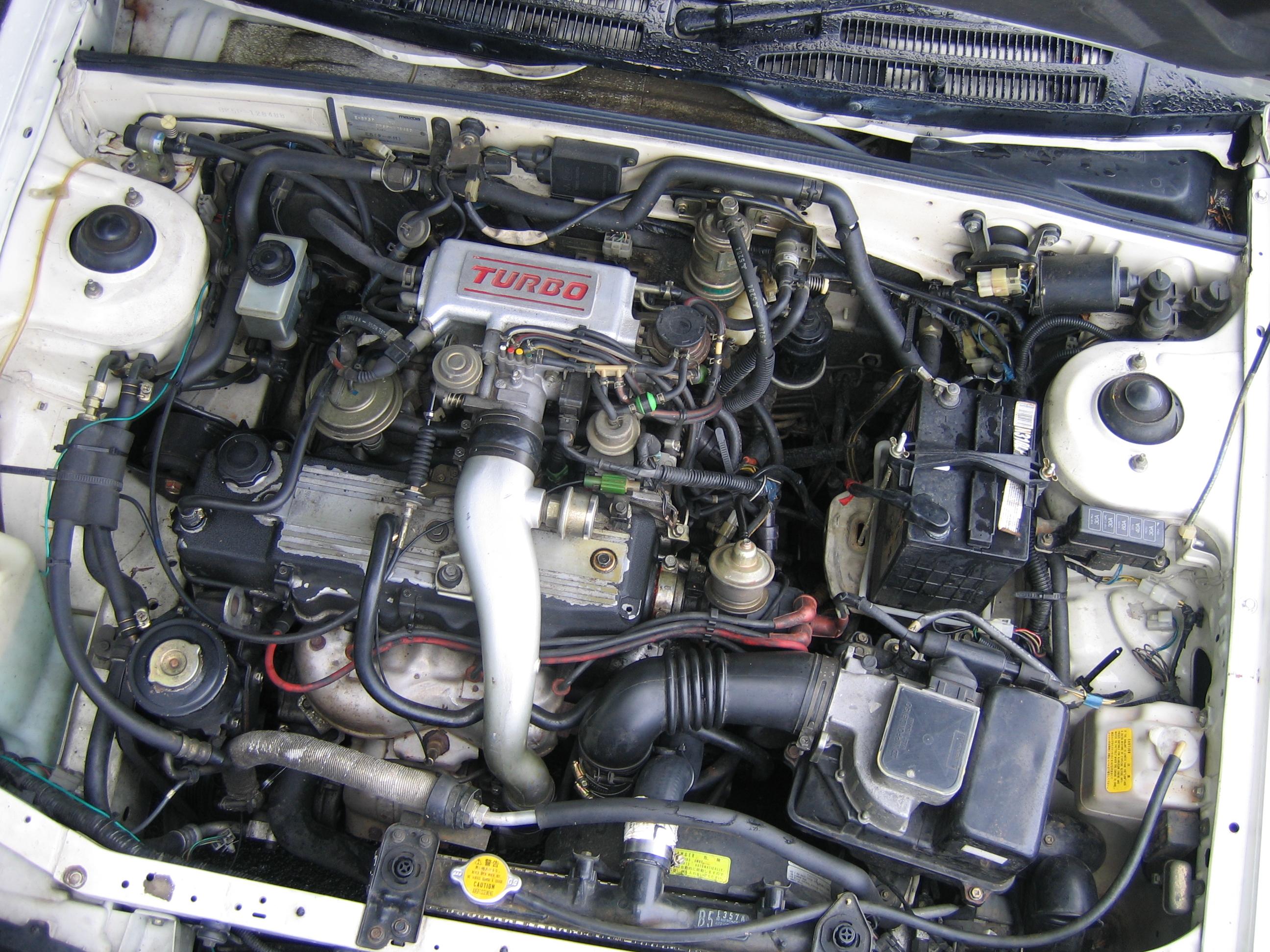 mazda familia 1.3 двигатель
