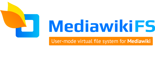 mediawikiFS — virtual user-mode file system for mediawiki