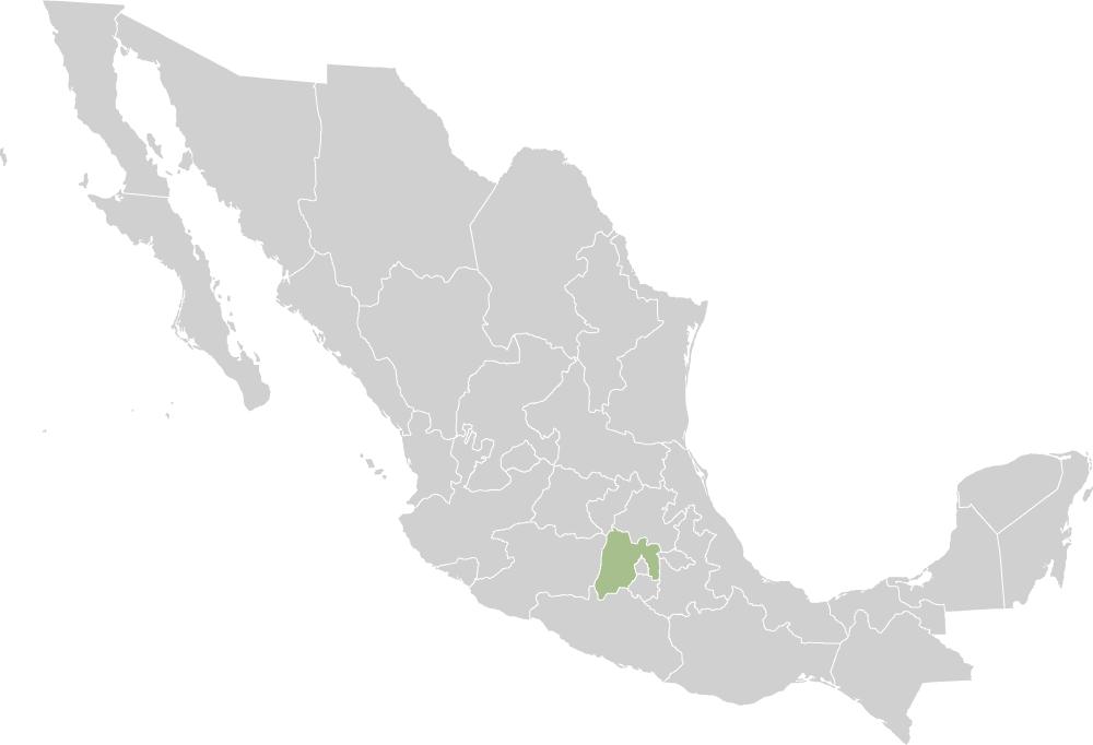 mexico befolkningstal