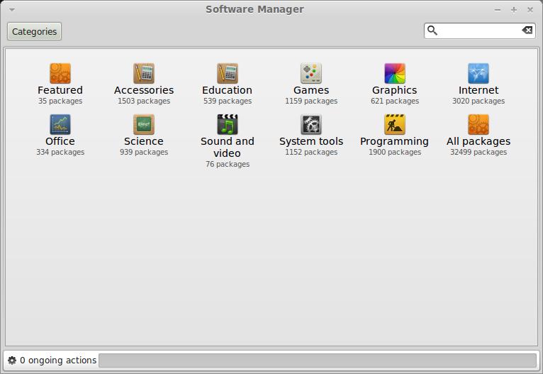 Description mint software manager