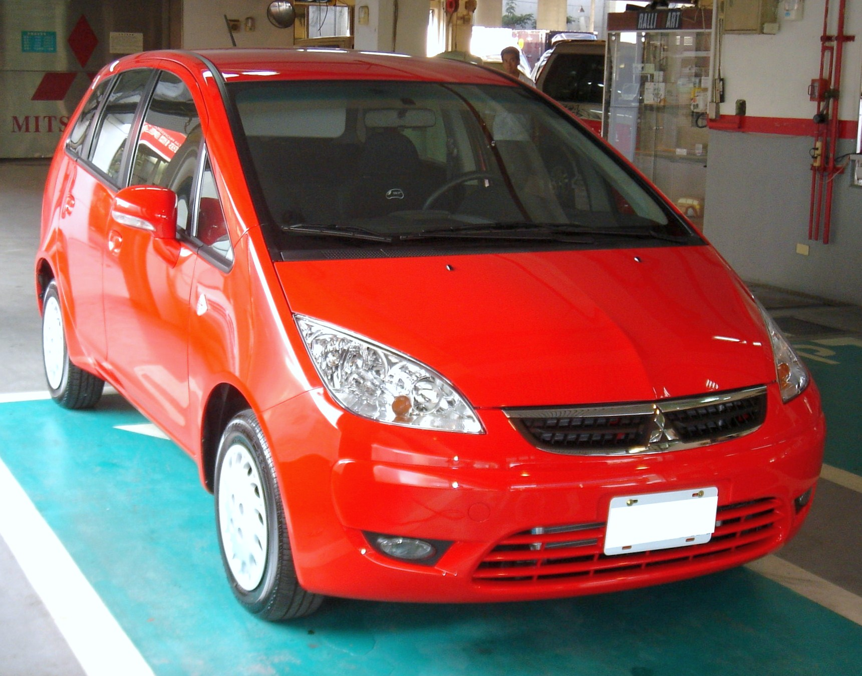 File Mitsubishi Colt Plus Front Jpg Wikimedia Commons