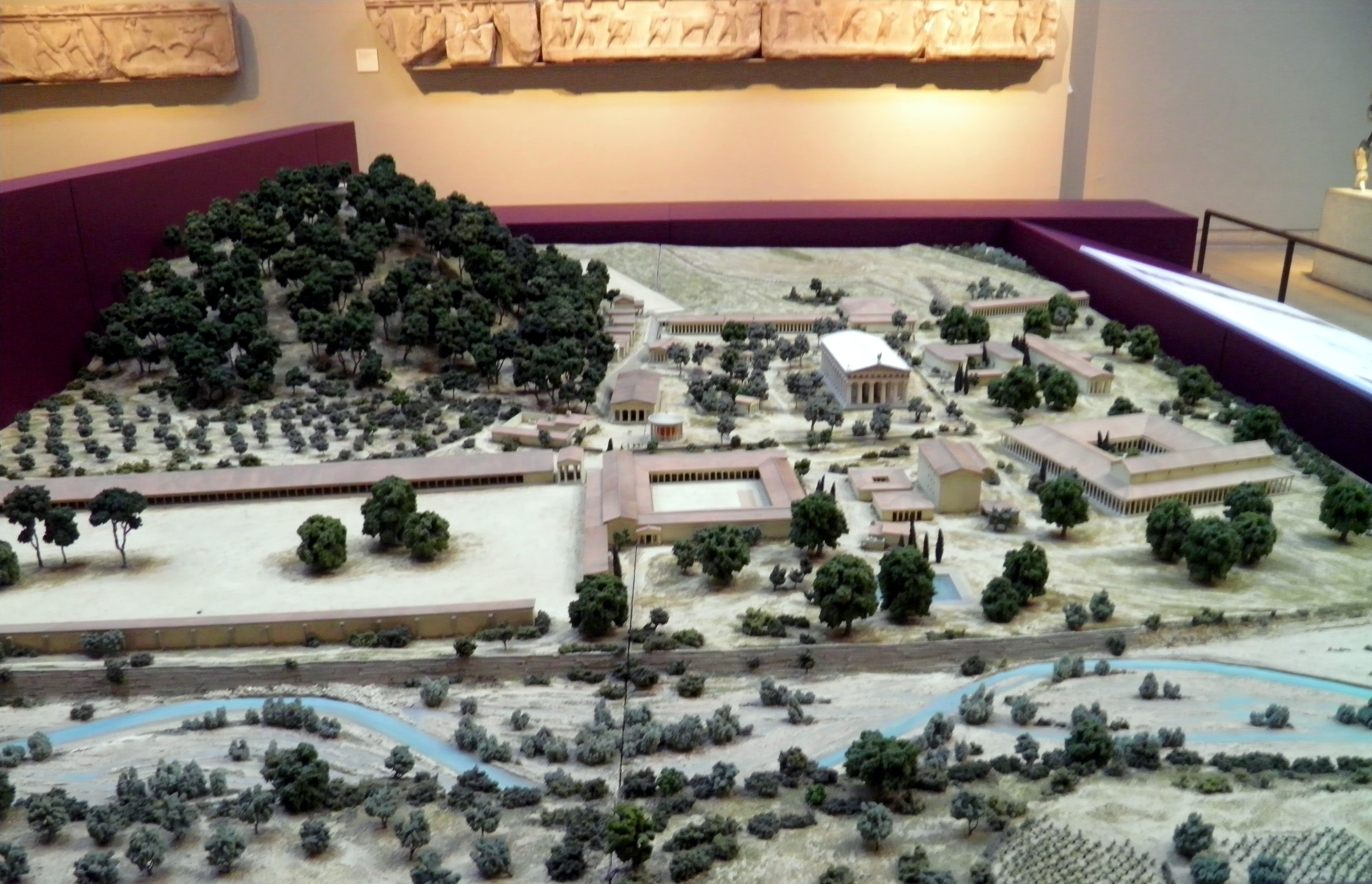 File:Model of ancient Olympia, British Museum2.jpg - Wikimedia Commons