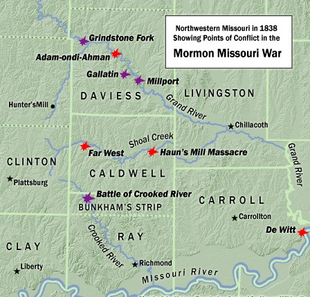 The missouri mormon war historum history forums - Jackson county missouri garden of eden ...
