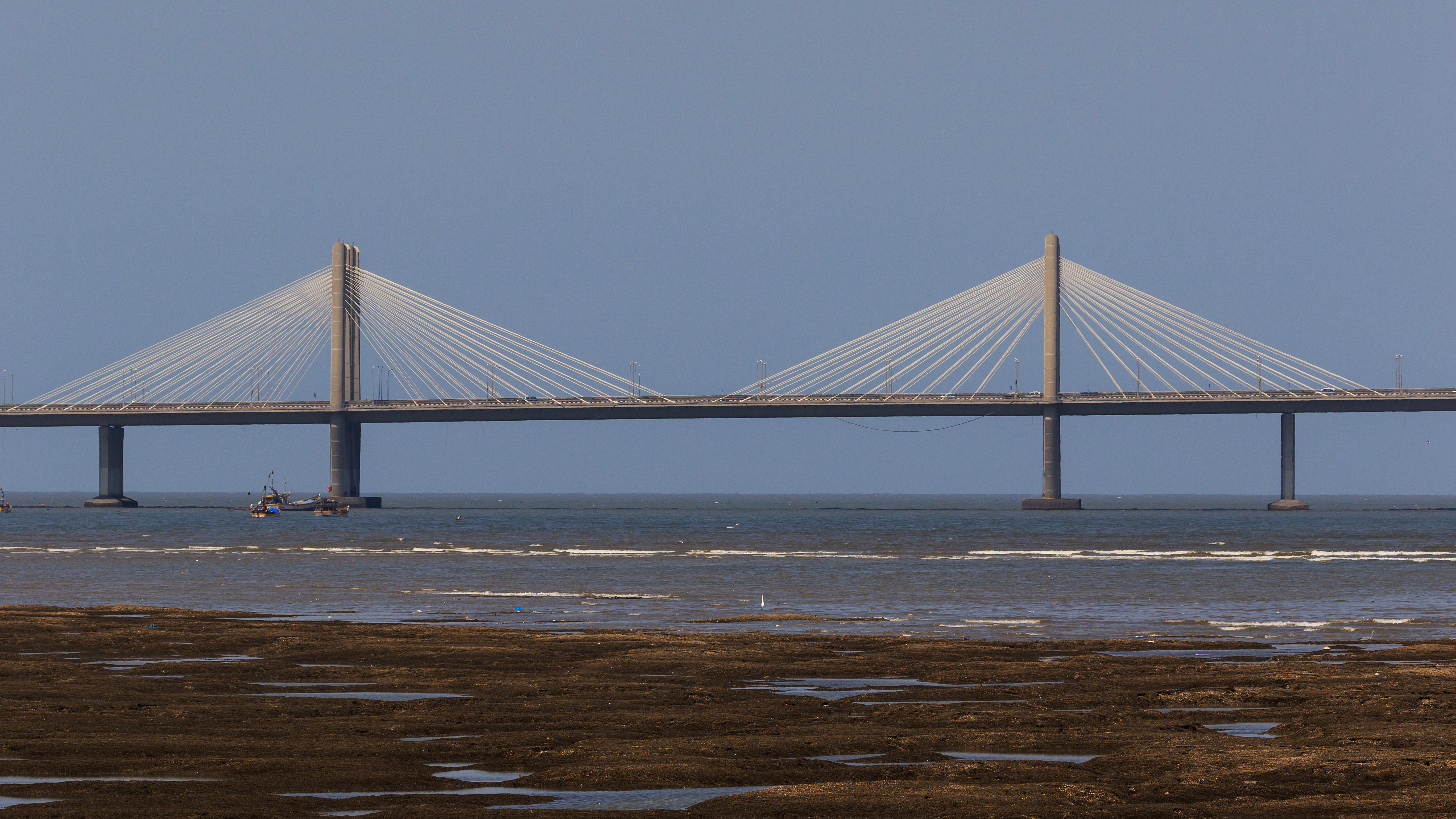 mumbai the bandra worli sea link is a cable stayed bridge that connects central mumbai its western suburbs