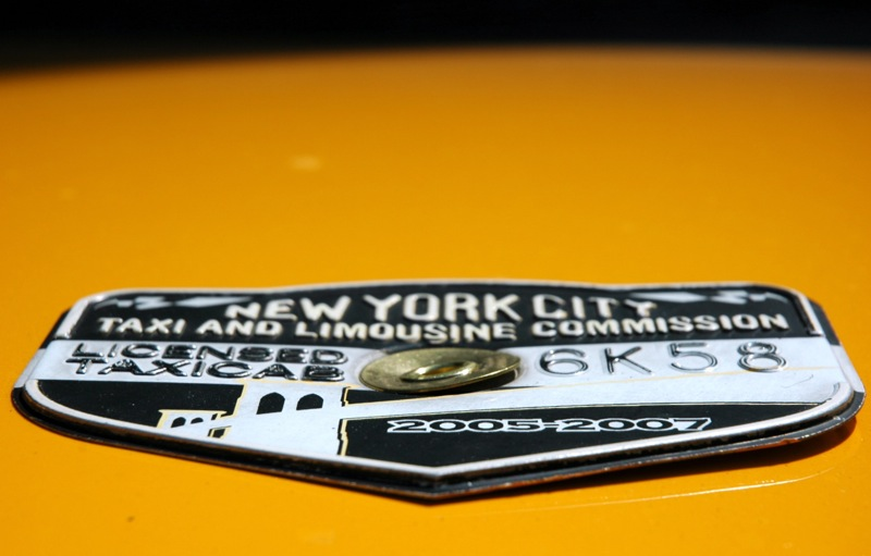 NYC taxicab medallion