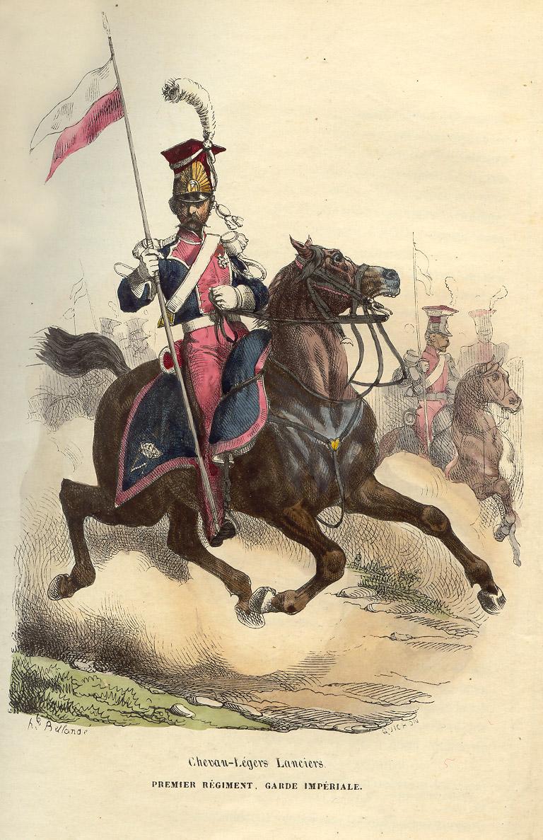 File Napoleon Guard Light Horse Lancer By Bellange Jpg