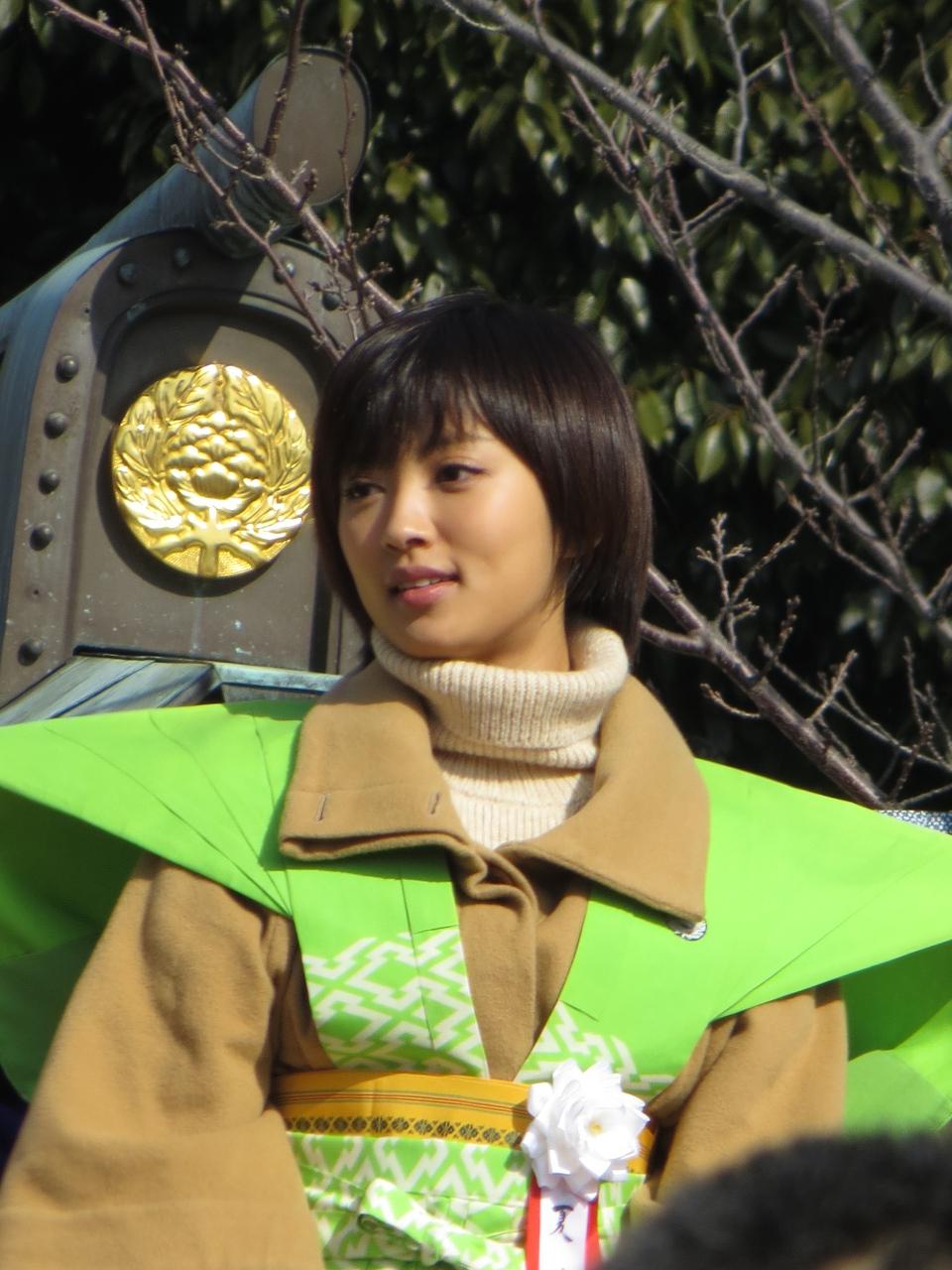 Natsuna Japanese actress A 2013.jpg