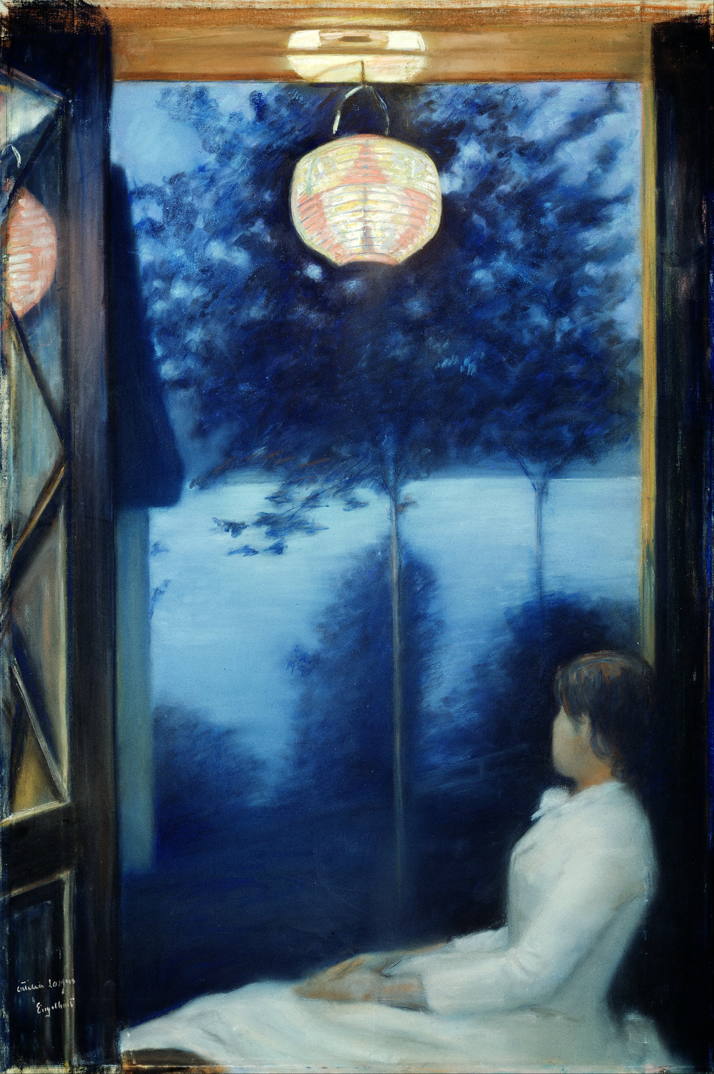 File Oda Krohg A Japanese Lantern Google Art Project Jpg Wikimedia Commons