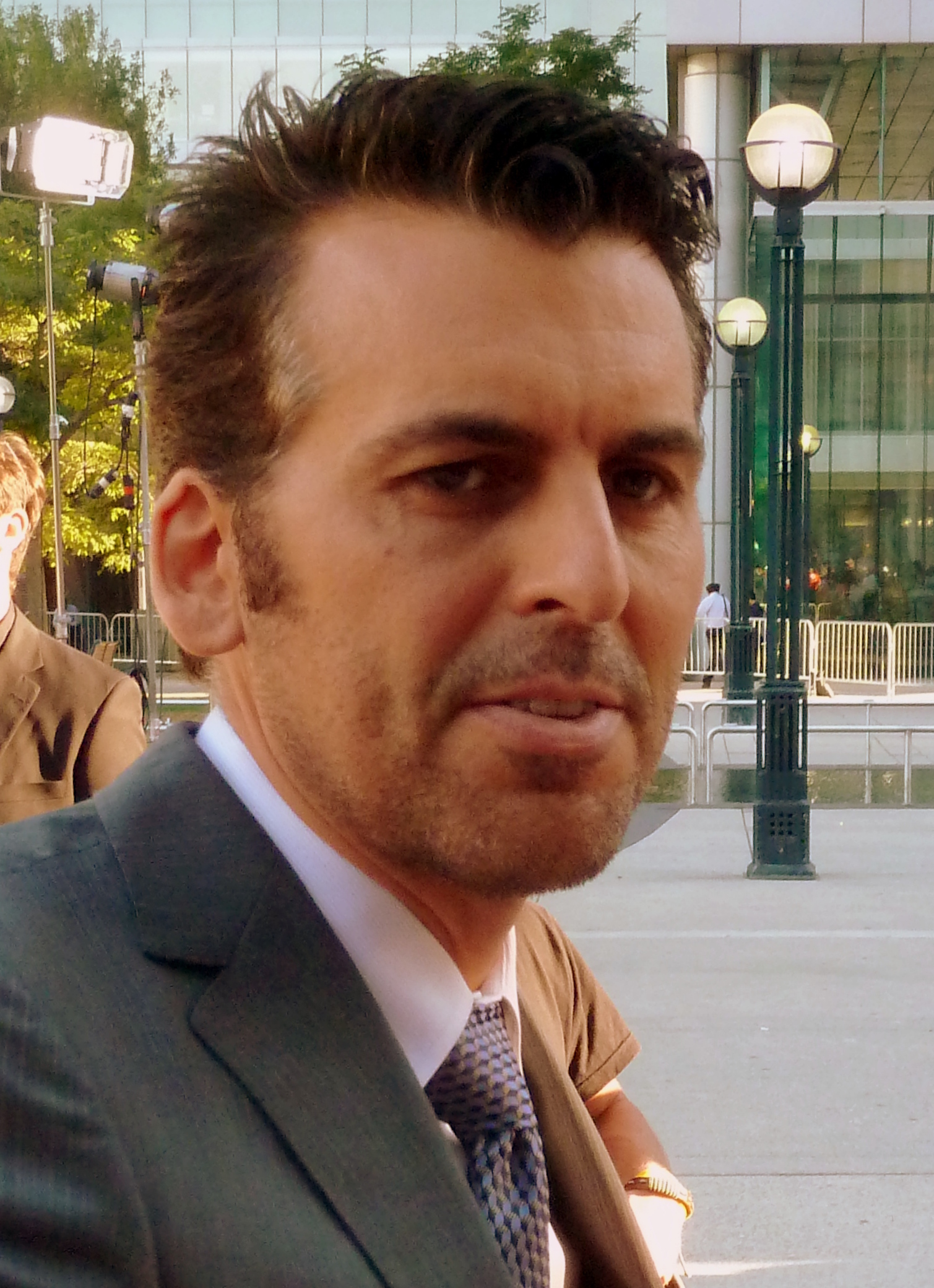 Oded Fehr couple