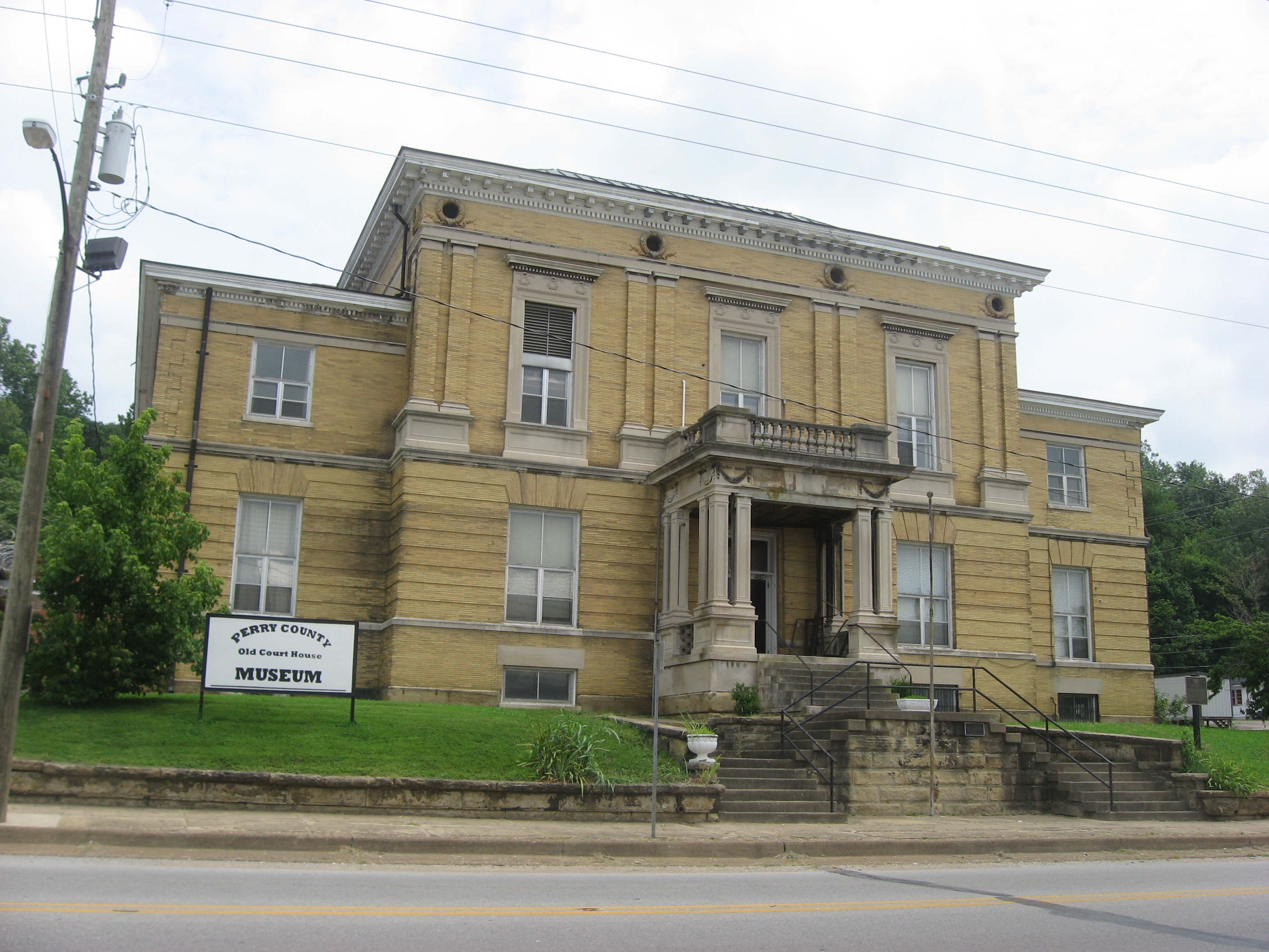 Indiana perry county cannelton - File Old Perry County Courthouse In Cannelton Jpg