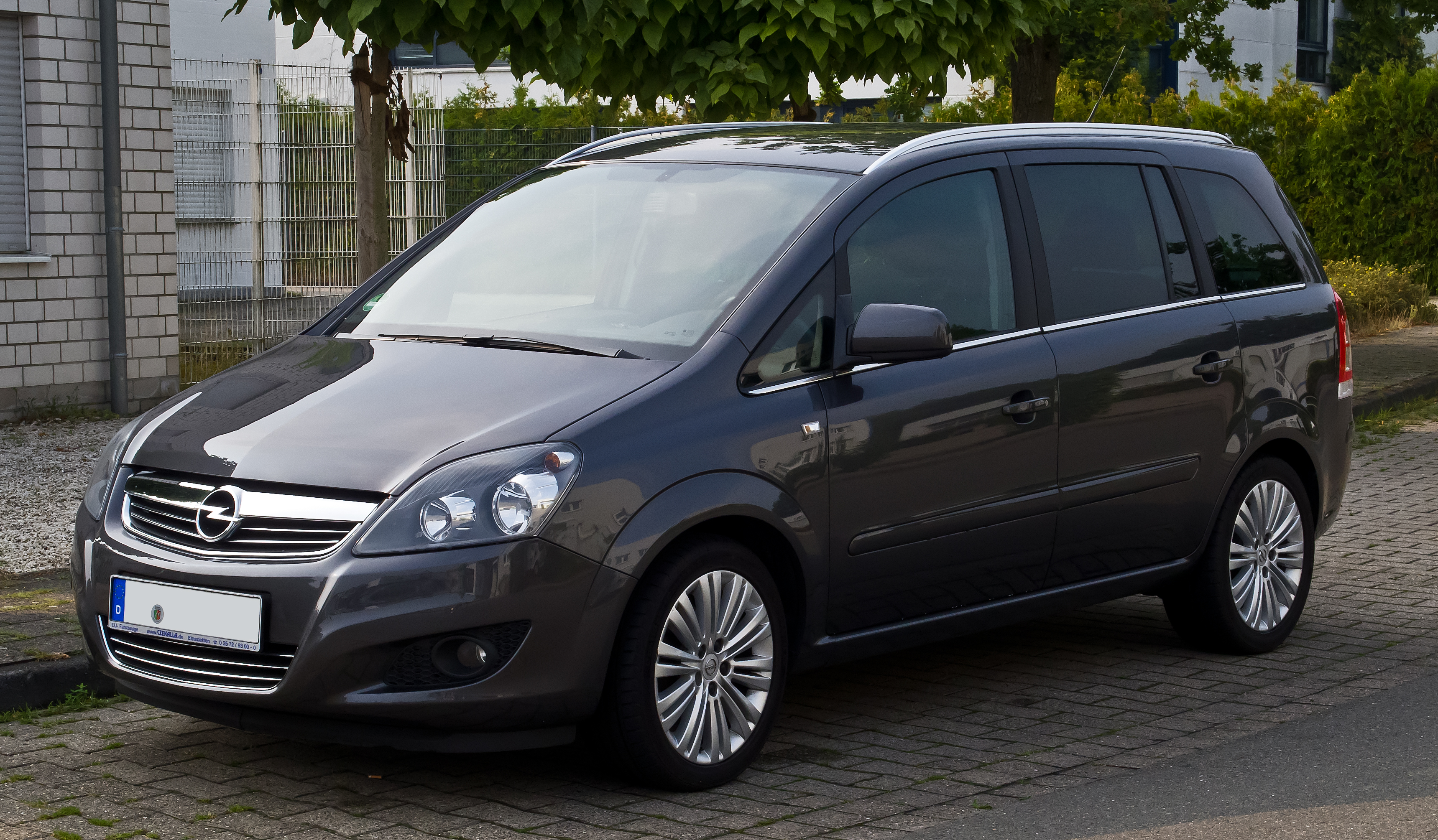 file opel zafira b facelift frontansicht 7 september 2013 m wikimedia commons. Black Bedroom Furniture Sets. Home Design Ideas