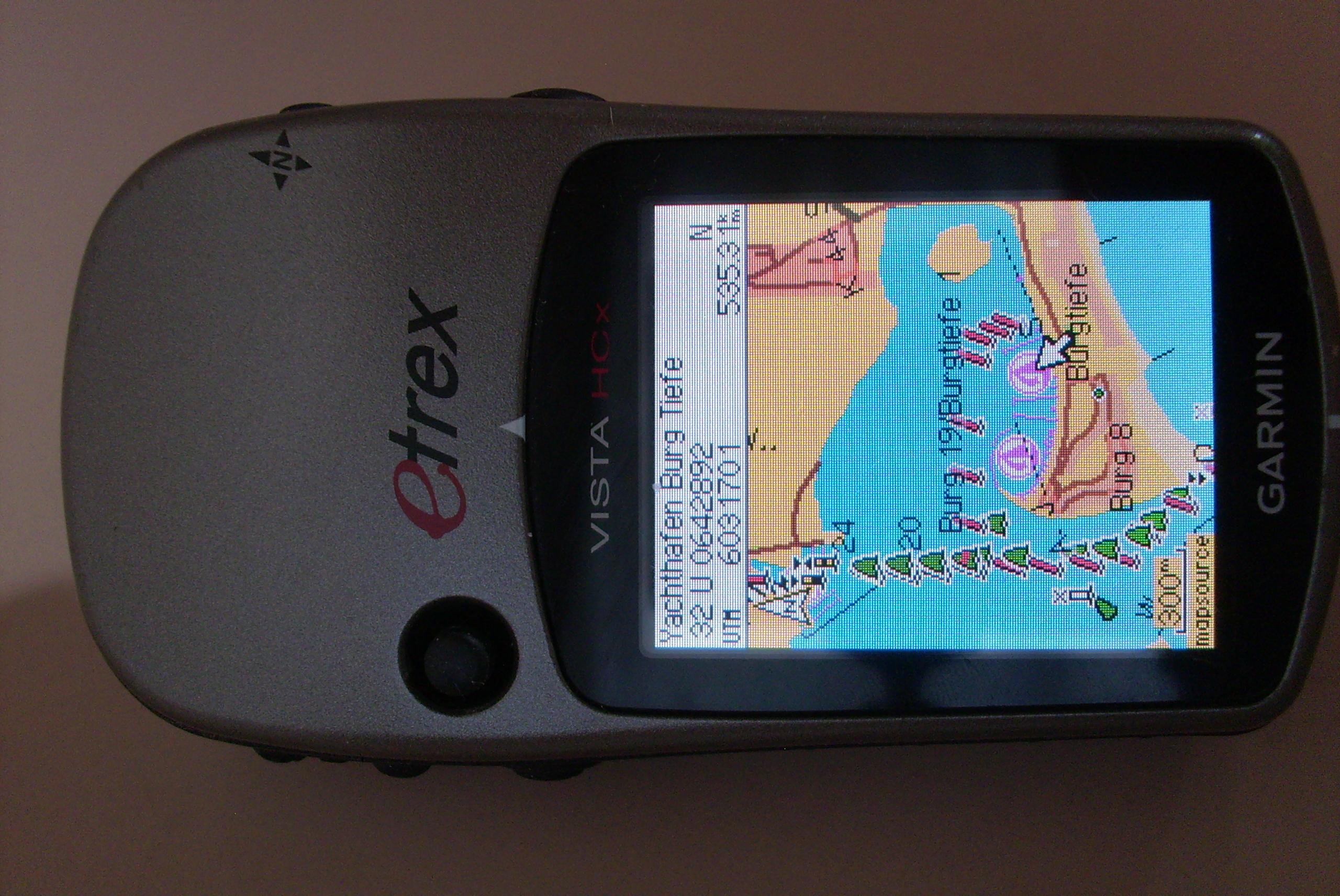 Garmin Etrex Vista Hcx Marine Maps Potomac