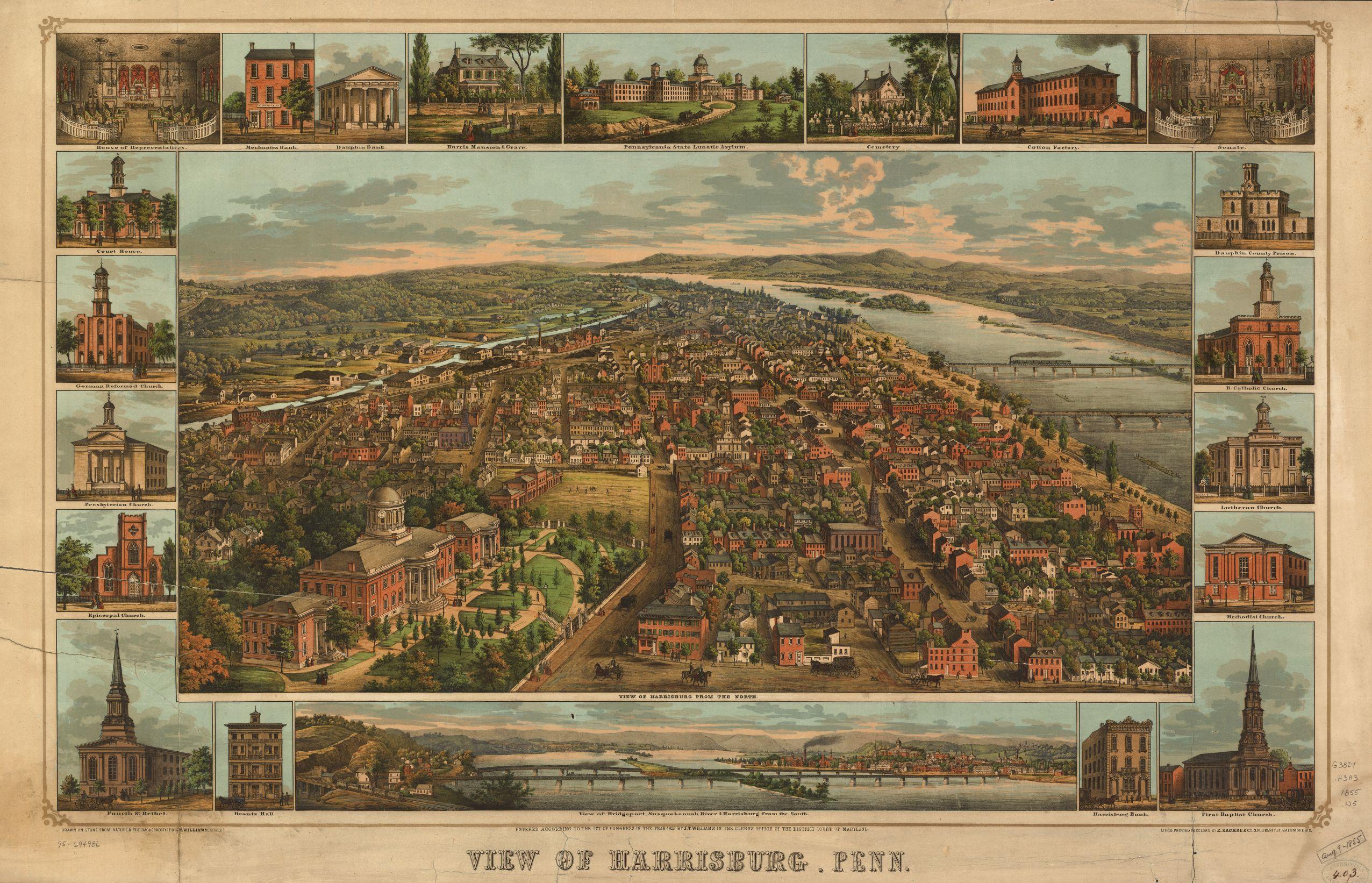 File:PA Harrisburg 1855 Map.jpg - Wikimedia Commons