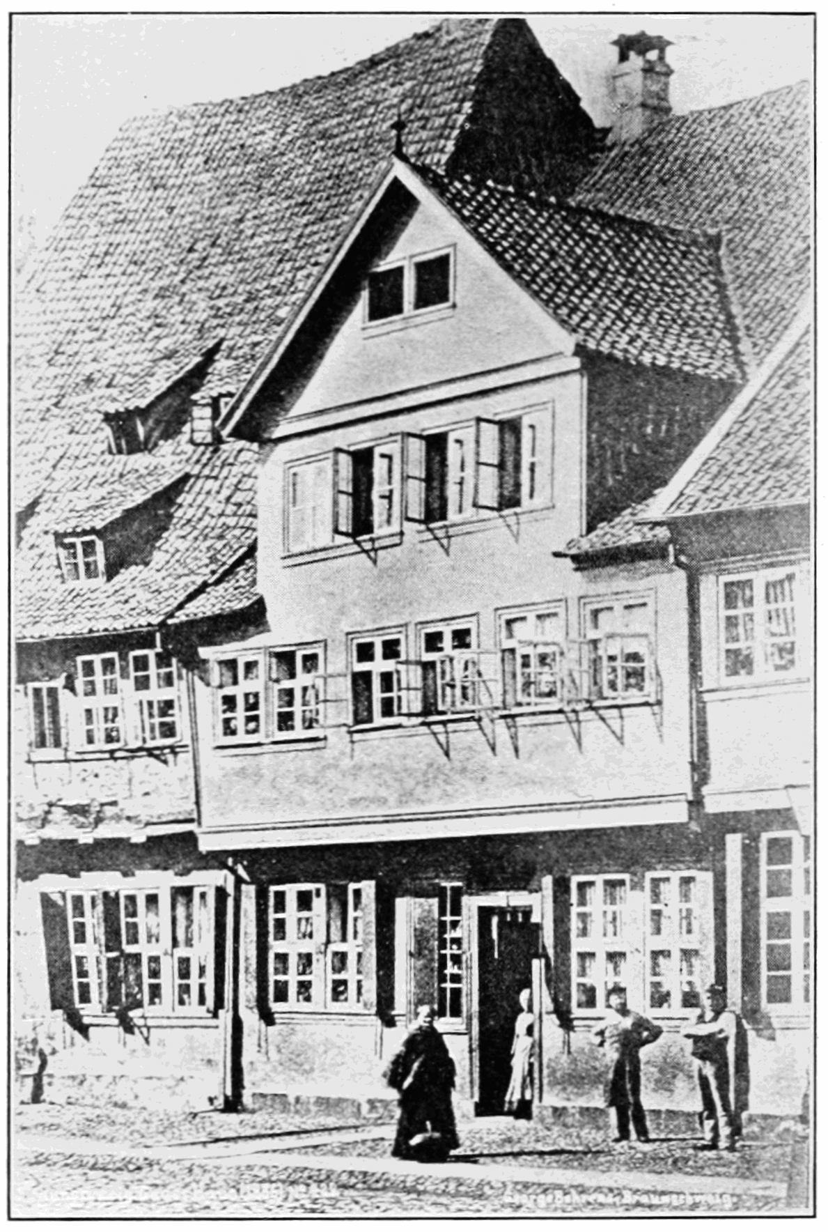 PSM V81 D114 Gauss birthplace in braunschweig.png