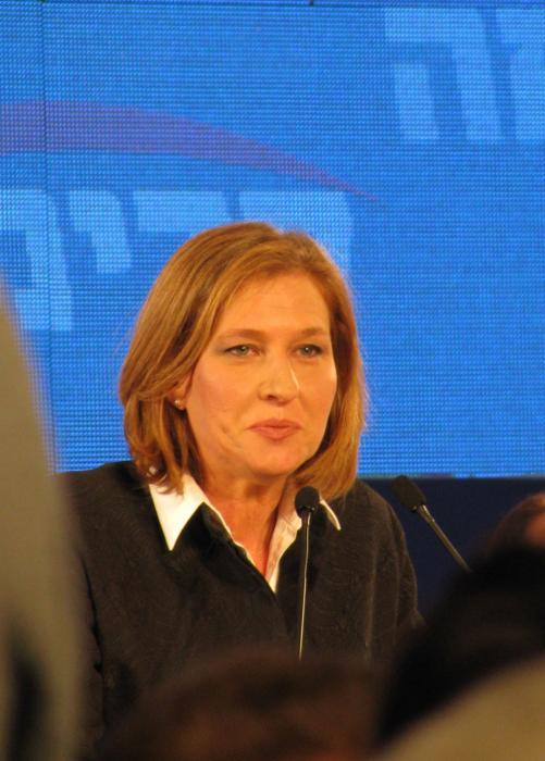 ערב בחירות 2009 - ציפי לבני