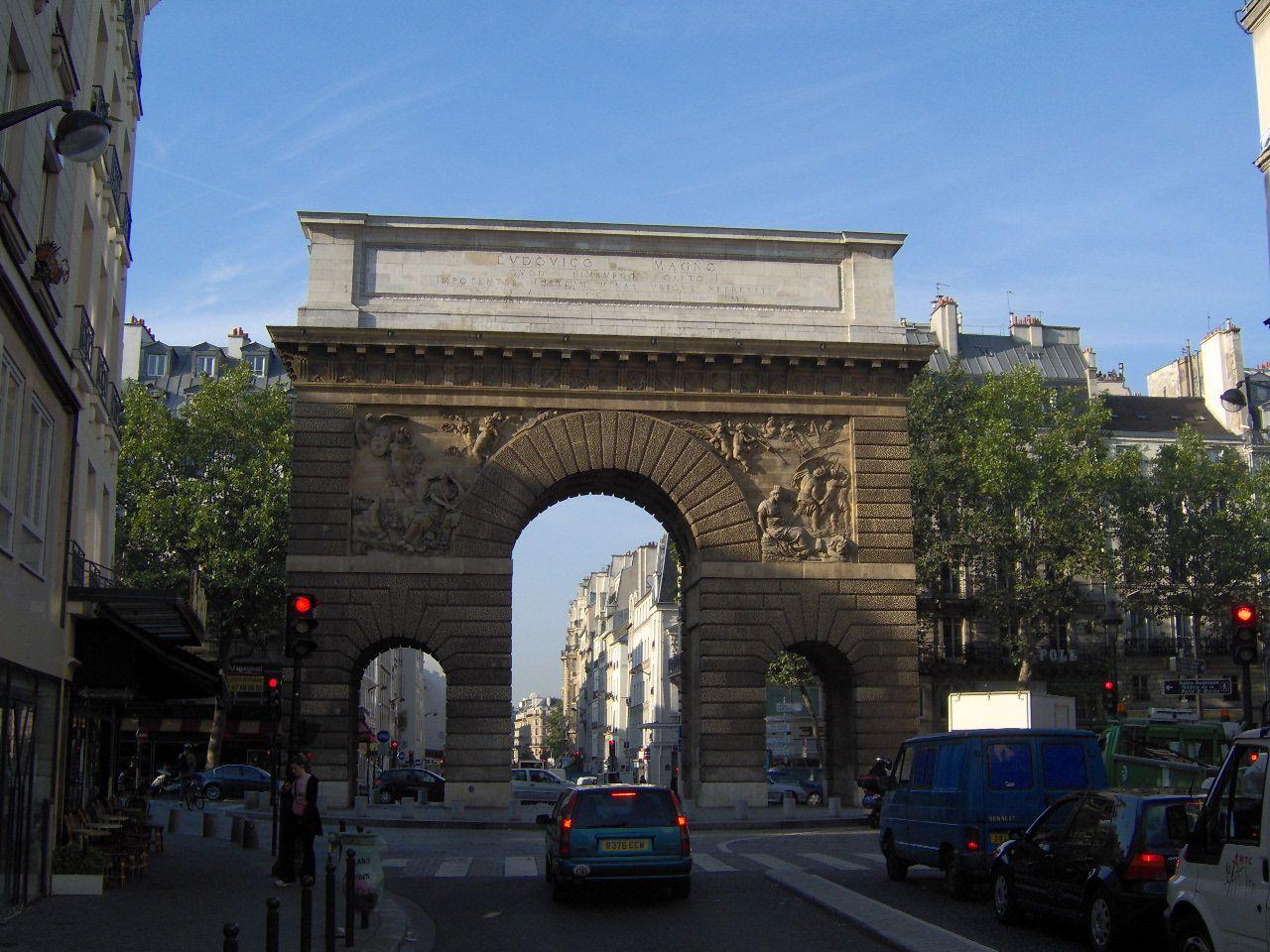 File list wikimedia commons for Porte saint martin