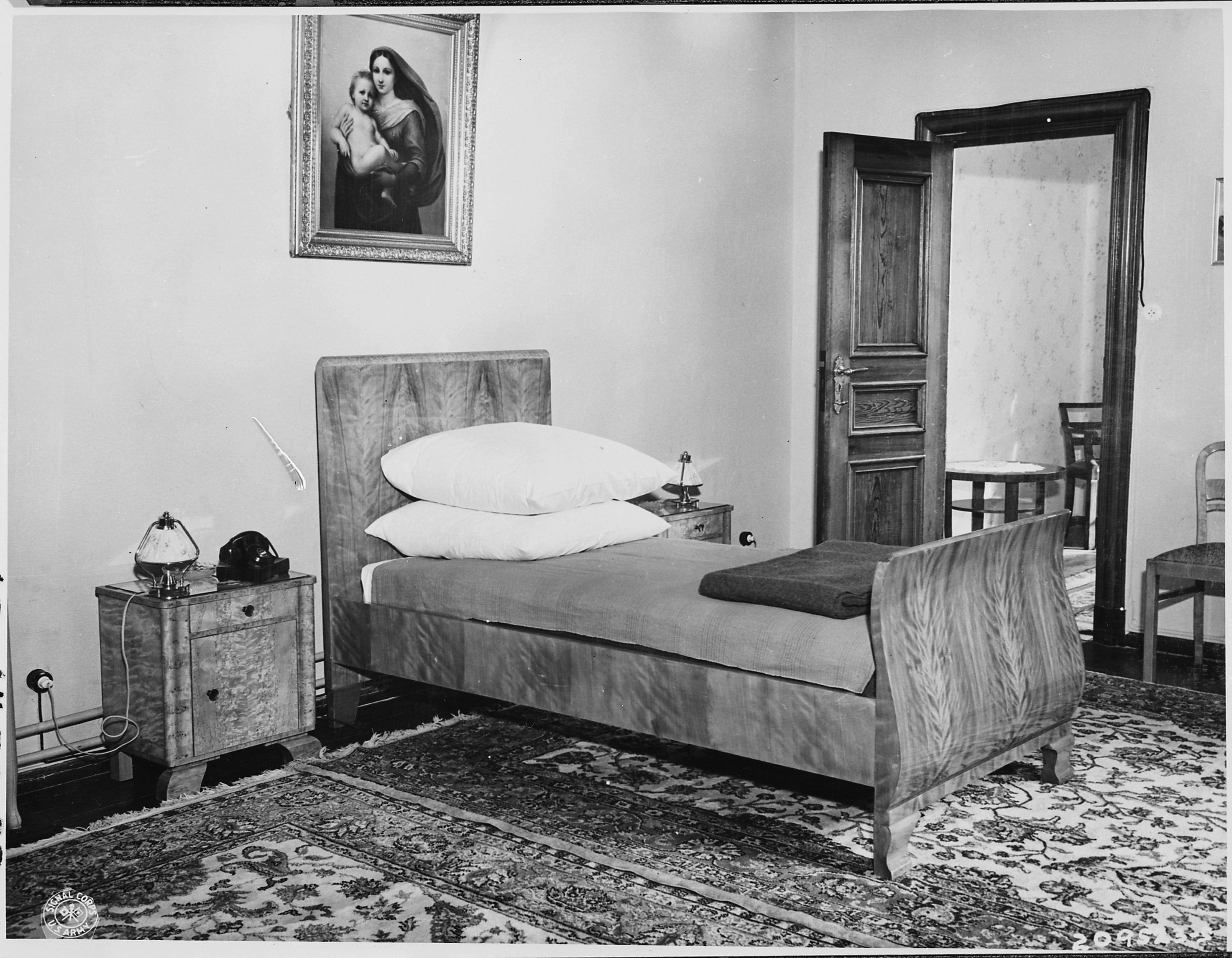 file president harry s truman 39 s bedroom in the little