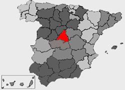 Medio f sico de la comunidad de madrid wikipedia la for Donde esta la comunidad de madrid