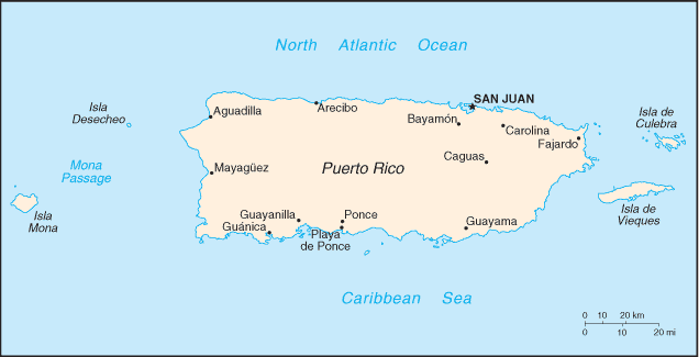 CIA World Fact Book, 2004/Puerto Rico - Wikisource, the free online ...