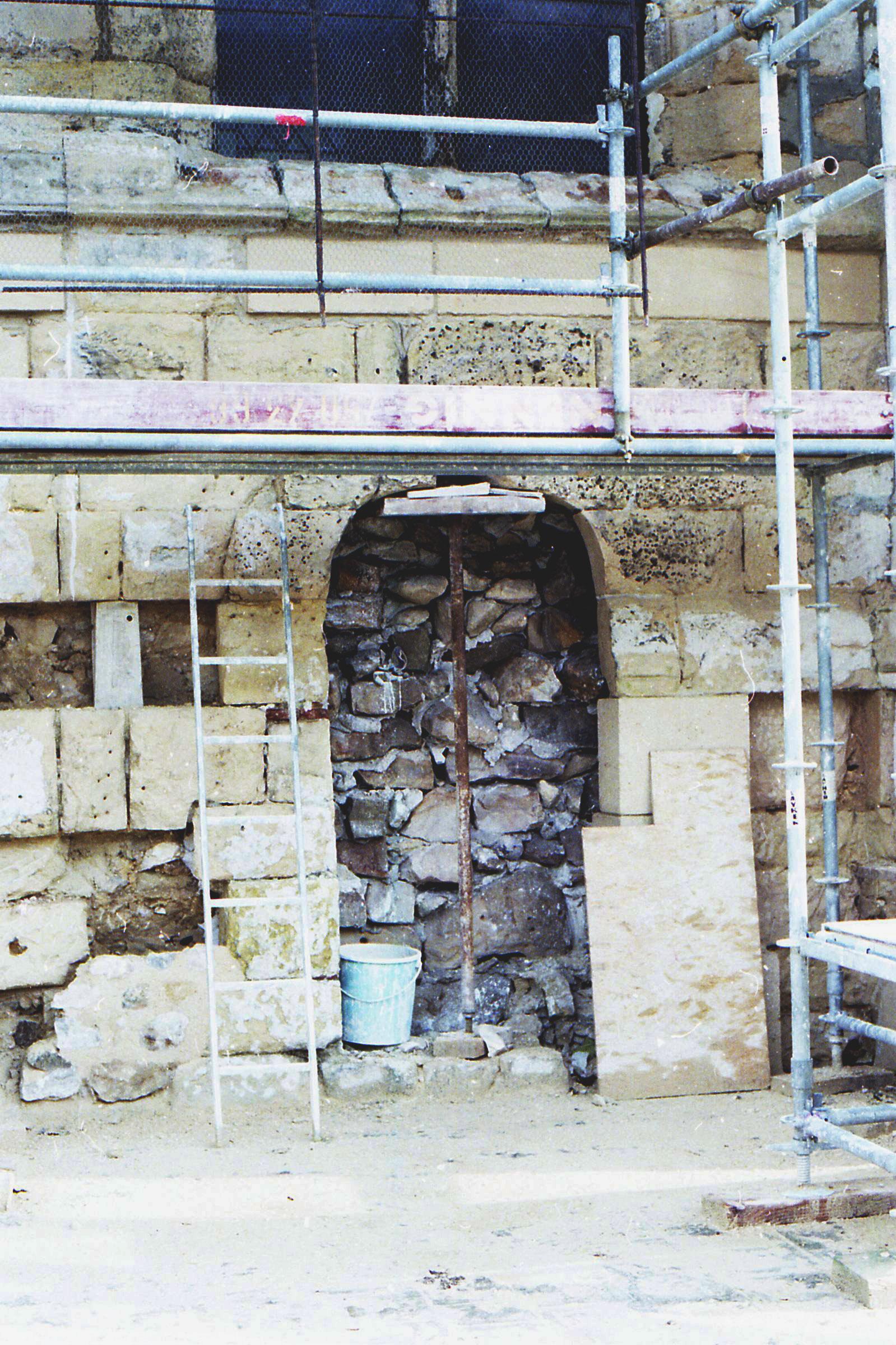 Rénovation de l'église de Survilliers 95470.jpg Français : Rénovation de l'église de Survilliers 95470 en 1992 Date 10 December 1992 Source