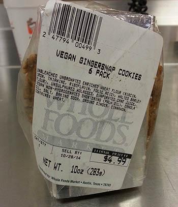 recipe: vegan chocolate chip cookies whole foods [25]